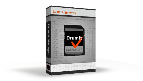 DrumIt Manager box